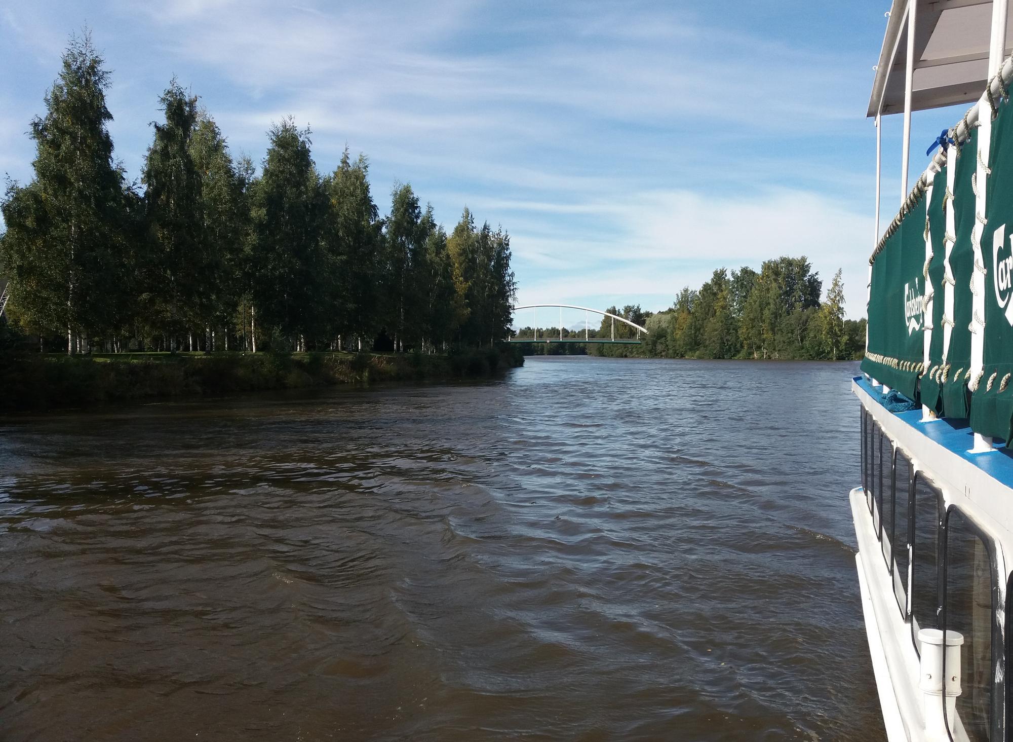 Kokemäenjoki matkailu- ja vapaa-ajanviettokohteena