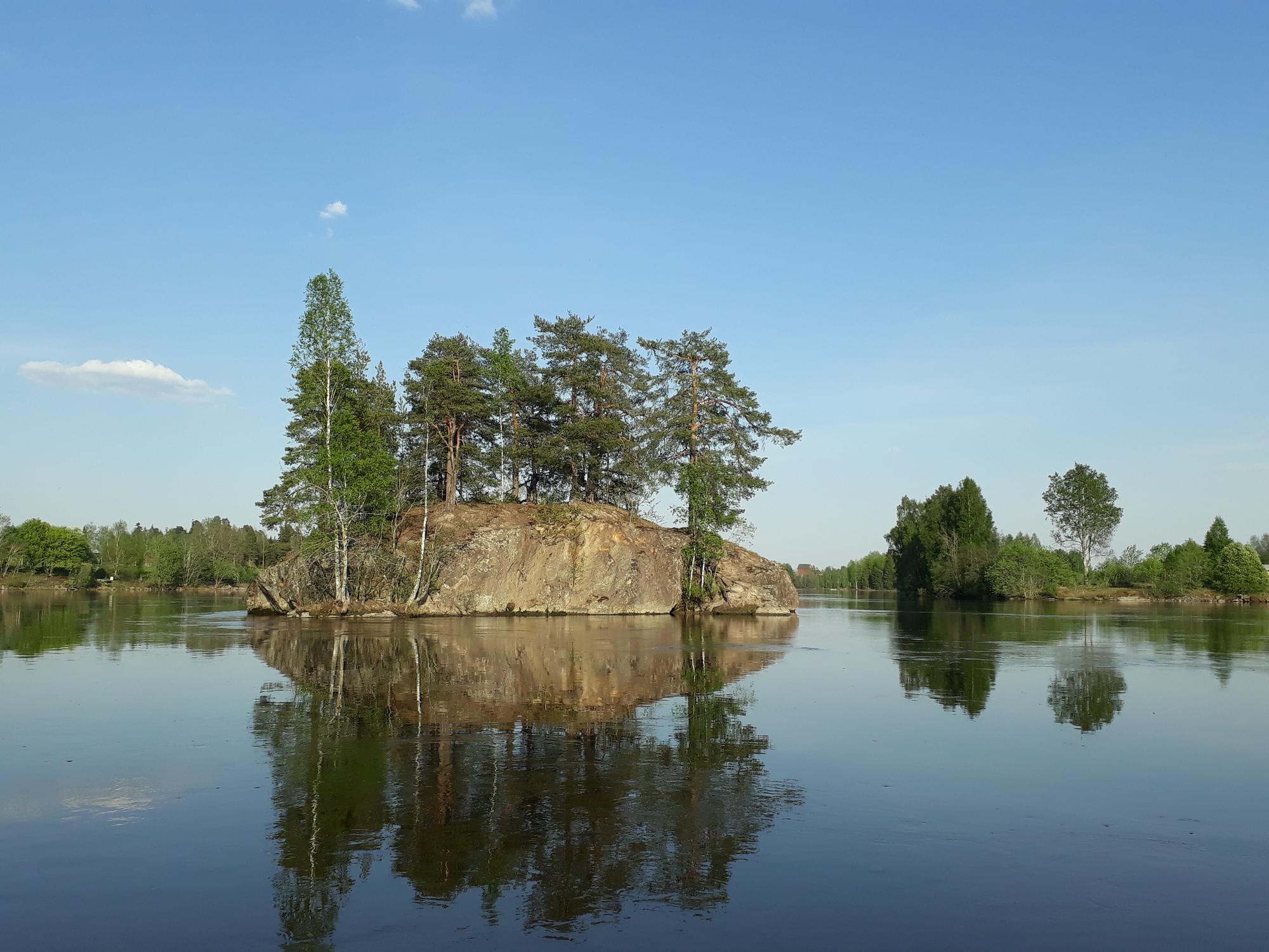 Kokemäenjokilaakson maisemasta