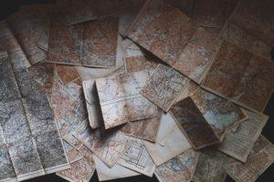 vanhat kartat sisältävät paljon tärkeää tietoa vielä nuy